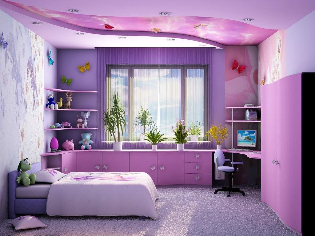 Дизайн комнаты для девочки и девушки. Комментарии  Дневники на КП.